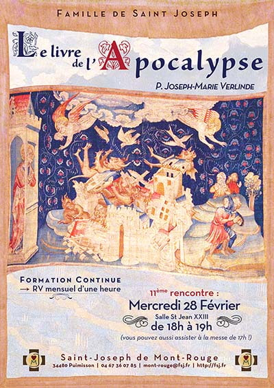La Famille St Joseph - Monastère St Joseph de Montrouge - communique. Formation-continue-Apocalyse-fevrier-min