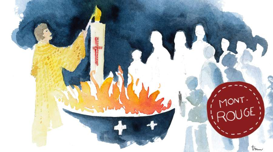 La semaine sainte en direct